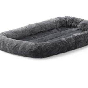 Midwest Home For Pets 22L-Inch Gray Dog/Cat Bed